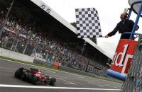 Sebastian Vettel takes a frankly astonishing first win for both himself and his team at Monza in 2008